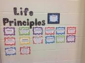 Display of Life Principles