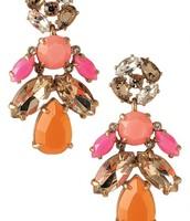 Pop Geo Chandelier Earrings $24