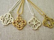 Clover Alphabet Charms