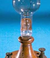 Edison's light bulb.