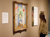 There is all different kinds of art to view at the DIA!