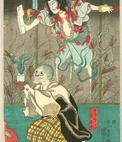 Revenge of Ghosts, ca. 1849-1953 by Utagawa Kuniyoshi