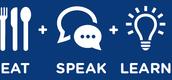 Parla come mangi! (o mangia mentre parli, IN INGLESE!)