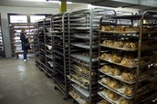 Racks of cakes!