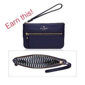 Cobble Hill Bee Wristlet by Kate Spade