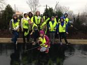 Riverlink roadside clean up.