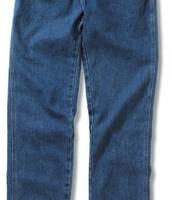 Los jeans azules