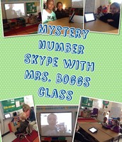 Mystery Number Skype with our iPad Buddies