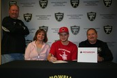 College Signing - Northwestern Oklahoma State Unv.