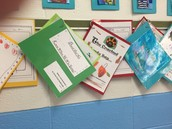 Our First Published Writing Pieces Displayed
