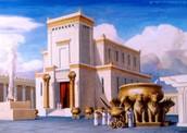 מקדש שלמה - ציור מהדמיון
