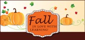 Fall Learning Reminder