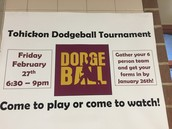 Dodge Ball Flyer