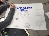 Constructing their posters