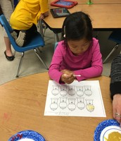Counting by Tens using gumballs