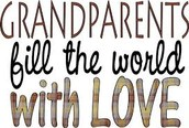 Grandparents and Special Friends Day!!!