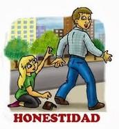 honestidad (: