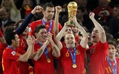 Whay were you doing when Spain won the World Cup?
