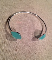 Aqua Serenity cuff bracelet (sale price $25)