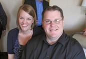 My husband Jeff and I