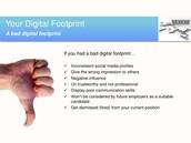 Bad Digital Footprint