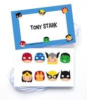 NEW! Superhero Tags
