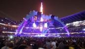 U2, desde el Rose Bowl, en California, Estados Unidos.