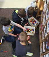 Legos are quite popular in our classroom right now.