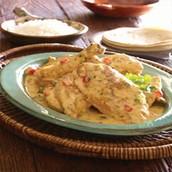 Pollo en Leche de Coco: Guatemalan Chicken in Coconut Milk