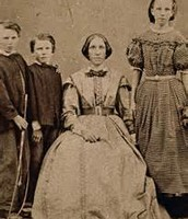 A Family In The 1850's