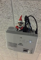 Our Class is Officially Under Elf Surveillance