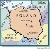 Poland's location