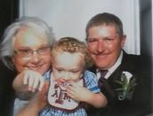 mom, dad & Bentley