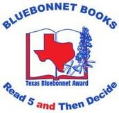 Texas Bluebonnet List for 3rd-5th