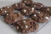 Galletas de Chocolate Triples