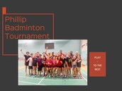 Phillip Badminton Tournament - Post-event Appreciation