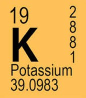 potassiums place on the periodic table