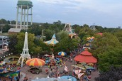 These are some of the rides at adventure land