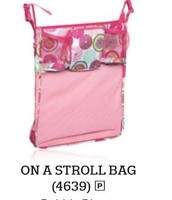 On a Stroll Bag in Bubble Bloom