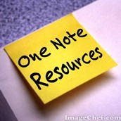One Note Resources