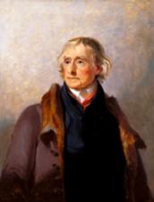 Thomas Jefferson born on April 13, 1743