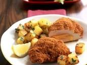 Cordon Bleu mit Bratkartoffeln 21€