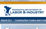 The logo for Minnesota Department of Labor and Industries