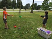 Library Lawn Games