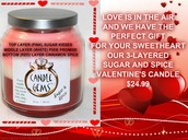 SoyL Scents Valentine's Day Candle