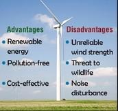Advantages of wind mills