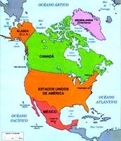 América del norte y Centroamérica.