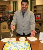 Mr. Lozano, Teacher of the Year
