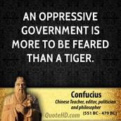 More Fear In The Government Than A Tiger
