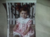 Me at 7 months old